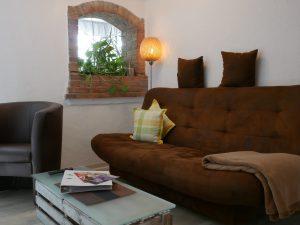 151 Ferienwohnung Sofa Wohnzimmer